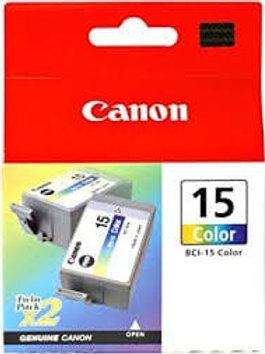 Canon BCI-15C Colour Inkjet Cartridges