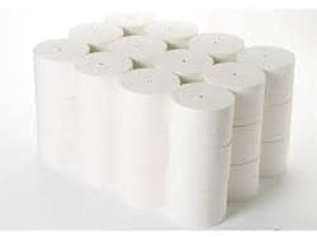 2ply White Coreless Toilet Roll 90mmx100mtr