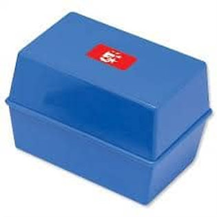 5 Star Card Index Box Capacity 250 Cards 6x4in 152x102mm