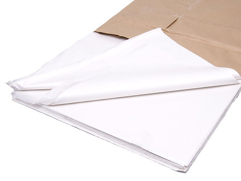"20x30"" White Tissue Paper Acid Free"