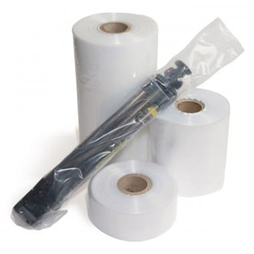 500g LAYFLAT TUBING - CLEAR NATURAL POLYTHENE - SUITABLE FOR FOOD USE