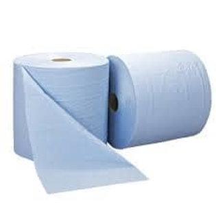 2ply Blue Wiper Roll 28cm x 1000sht IBL100