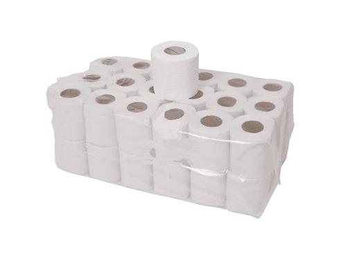 36 Toilet Rolls - White (economy) TR01