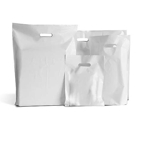 "22x18x3"" Clear Carrier Bag Varigauge 180/360"