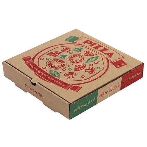 Corrugated Pizza Box Various Sizes