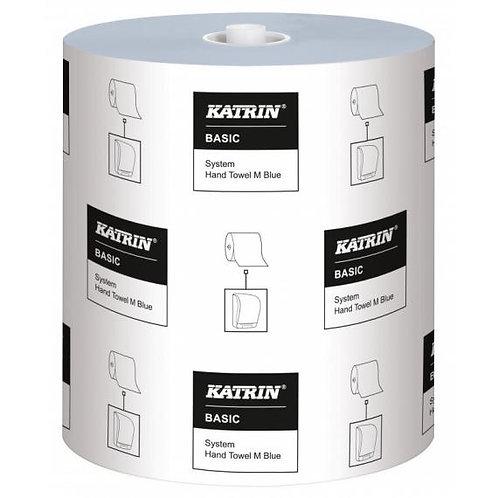 Katrin Basic System Towel M 1ply Blue 200mtr
