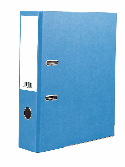 5 Star BLUE A4 Lever Arch File Pk 2