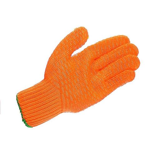 Mens criss cross gloves