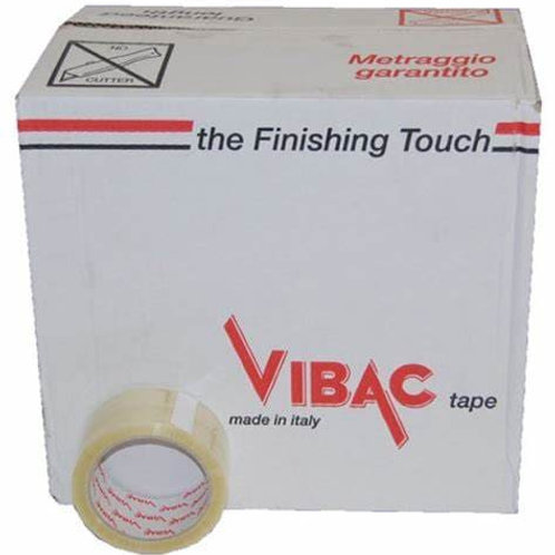 48mmx66m Solvent Vibac Clear Tape