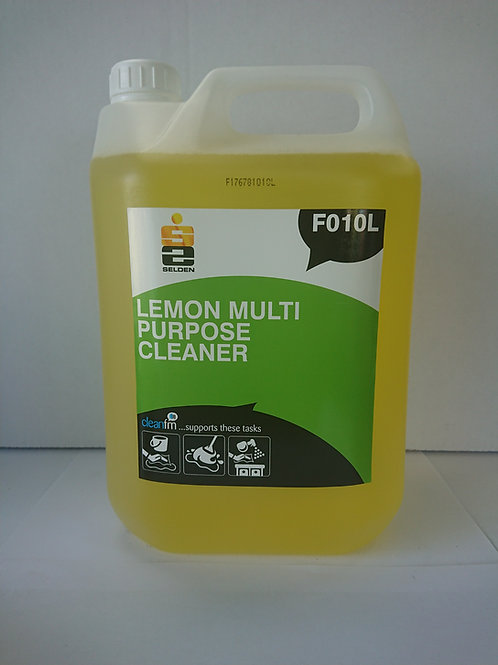 10 Litres of Multipurpose Cleaner Concentrate Lemon (2 x 5 Litre)