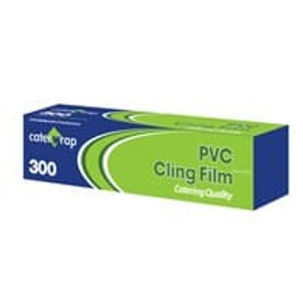 "30cmx300mtr (12"") CutterBox Clingfilm PVC LMF"