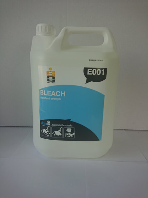 Quality standard strength bleach (1 X 5 Litre) - Monthly Subscription