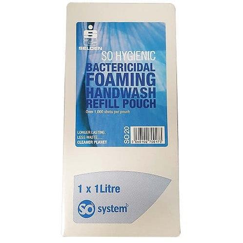 So Hygienic Bactericidal Foam Hand Wash