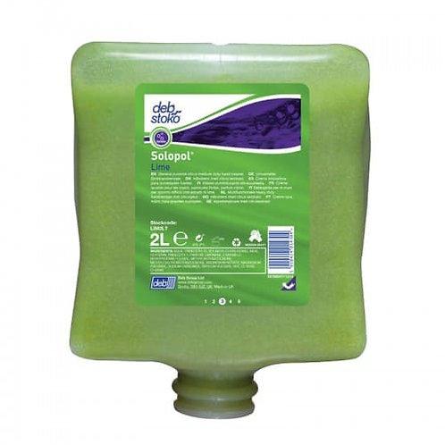 Deb Solopol Lime (Contains Cornmeal Scrub) 2Ltr