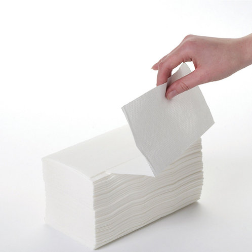 2ply White Interfold Hand Towels