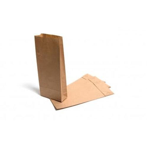 Brown Paper Block Bottom Bags Various sizes