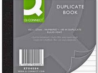 Q - Connect Duplicate and Triplicate Books