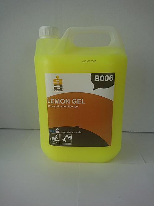 5 litre Lemon Citrus Based Floor Gel