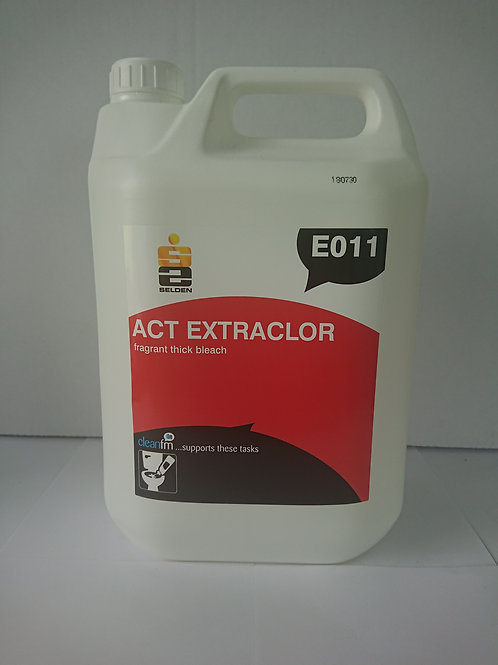 5 litre Extraclor Thick Bleach