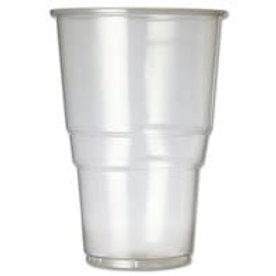 1Pint Clear Plastic 23oz flexiglass fg616c