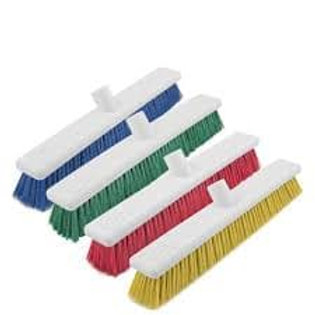 300mm Washable Broom Head Soft Red