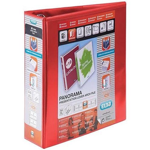 ELBA Panorama A4 Presentation Ring Binder PVC 4 D Ring 65m