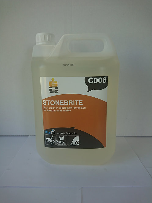 Stonebrite Terrazzo Floor Cleaner, Unit; 2 x 5ltr