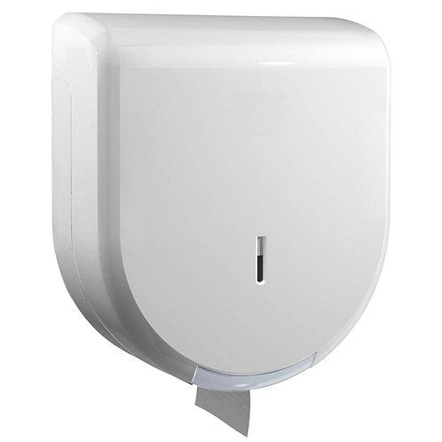 Dolphin Standard/Maxi Jumbo Dispenser White Plastic