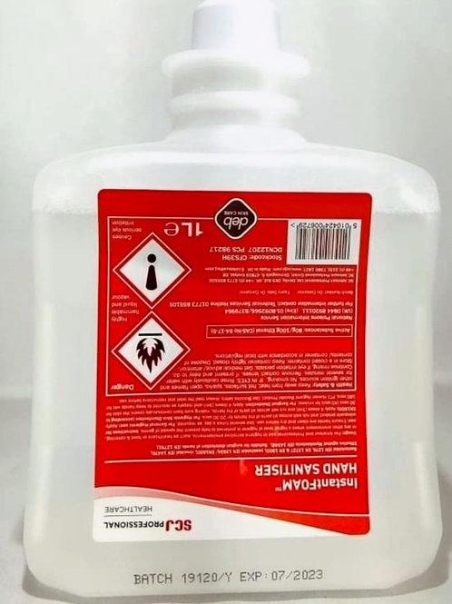 Deb Cutan Foam Hand Sanitiser 1000ml