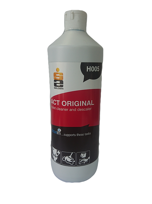 Act Thick Toilet Bowl & Urinal Cleaner 1Ltr