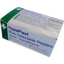 Hypaplast Blue Detectable Plasters 7.2x5cm