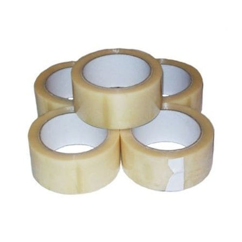 48mmx66mtr Advantage Polyprop Tape Clear