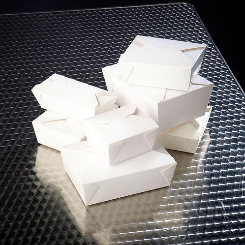 White Leak Proof Boxes Various Sizes