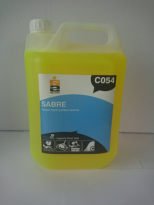 5 litre Sabre Rapid Lemon Bactericidal Multi Purpose Cleaner
