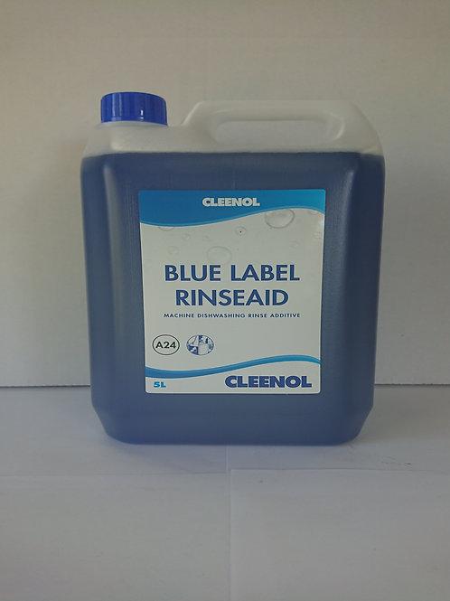 2 x 5 litre Cleenol blue label rinse aid