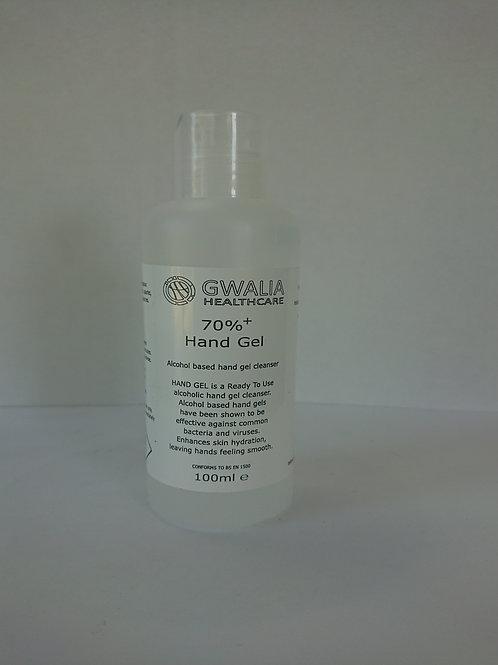Hand Sanitiser Gel (70% alcohol) 100ml
