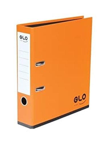 GLO A4 Orange Lever Arch Files Pk 3