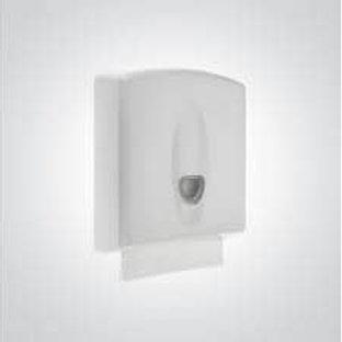 Dolphin Excel Universal Hand Towel Dispenser White Plastic