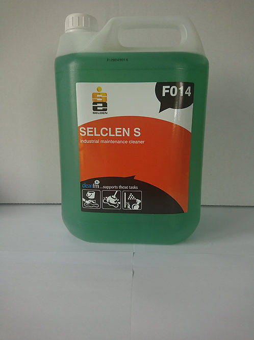 5 litre Selclean S Industrial Maintenance/Floor Cleaner Concentrate