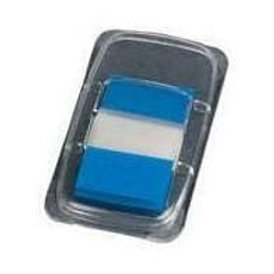 """Q - Connect Page Markers 1"""" (25mm) Tabs Blue"""