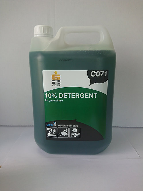 10% Neutral Detergent, Unit: 1 x 5ltr
