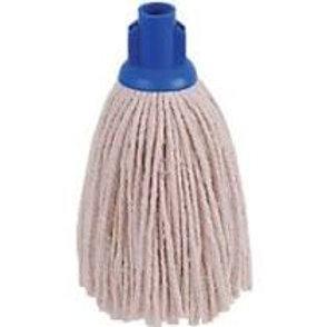 No 14 P/Yarn Plastic/Skt Mop Head Blue