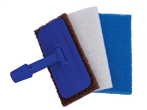 Blue Octopus Scrub Pad (Medium Duty)