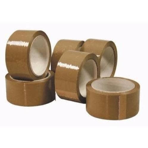 50mmx66mt Vinyl Tape Brown