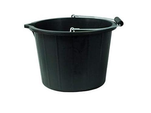 15 Ltr Industrial Bucket Black  Pk 20