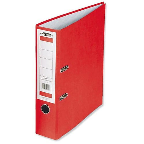 5 Star Lever Arch File 70mm Spine A4 Red