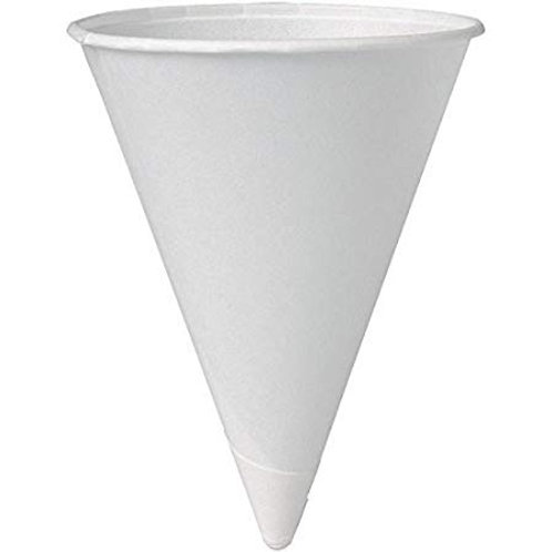 Bare by Solo Eco-Forward Paper Cone Water Cups 4oz