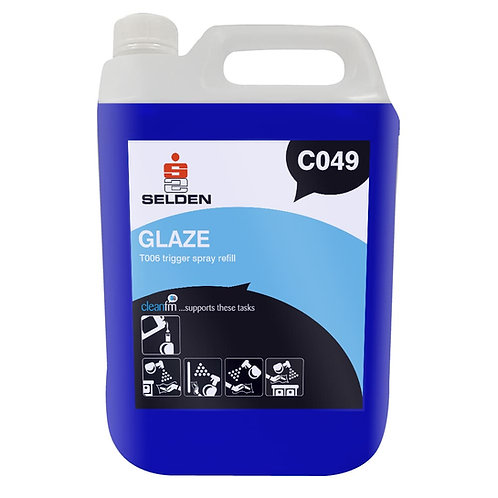 Glaze Glass Cleaner With Anti-Mist/VDU Cleaner