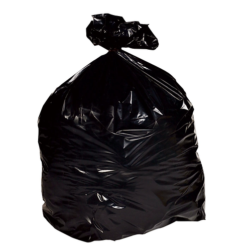 "18x29x39"" LD Black Refuse Sacks LIGHT, MEDIUM, HEAVY"