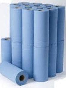 """10"""" 2ply Blue Medi Roll 40mtr (HBL100)"""